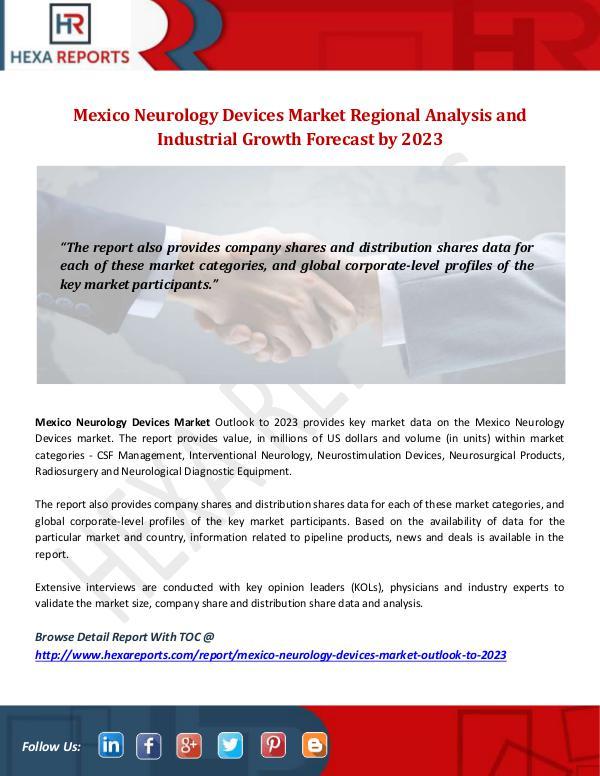 Mexico Neurology Devices Market