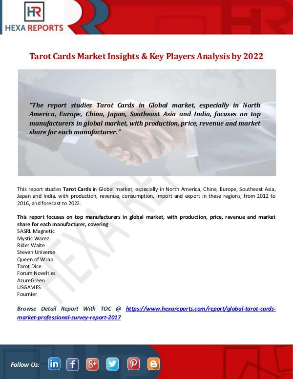 Tarot Cards Market