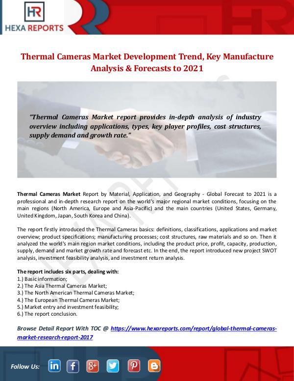 Thermal Cameras Market