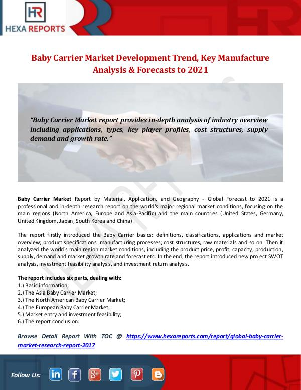 Baby Carrier Market