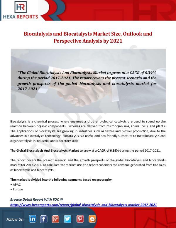 2017 Biocatalysis and Biocatalysts Market Share, B