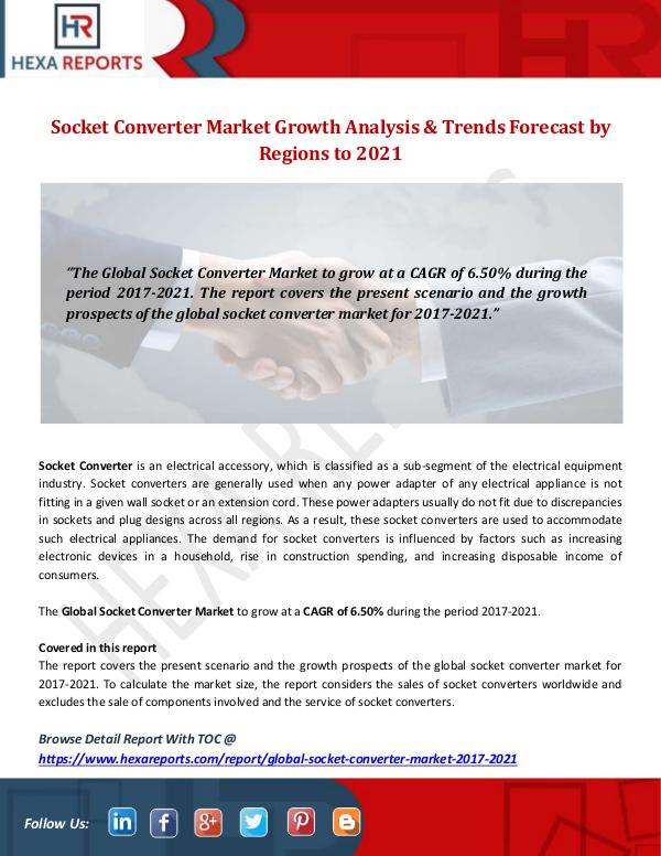 Hexa Reports Industry Socket Converter Market