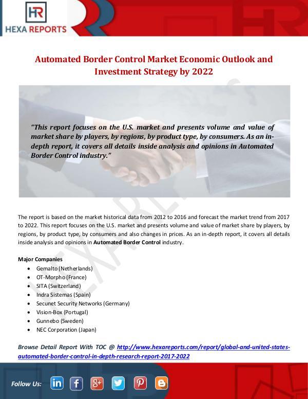 Automated Border Control Market