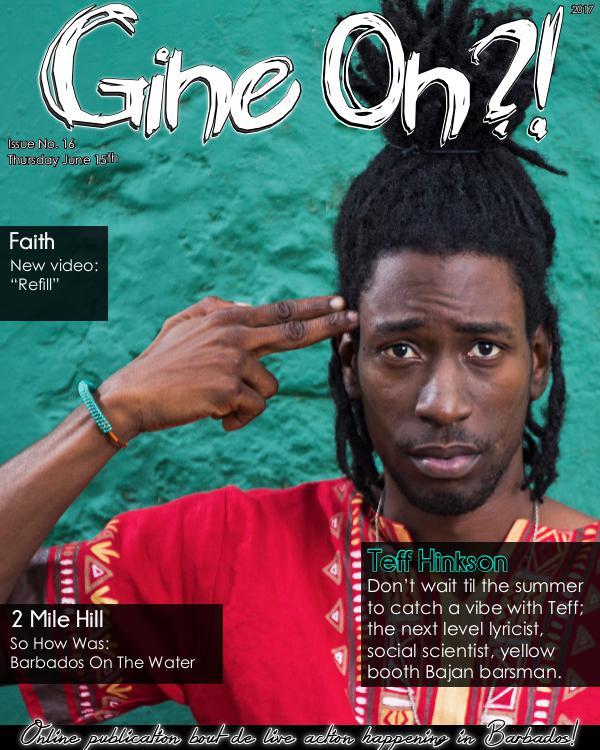 Gine On?! Magazine Issue 16