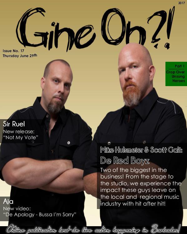 Gine On?! Magazine Issue 17