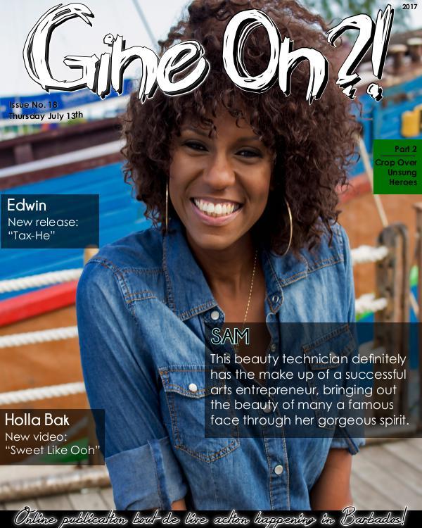 Gine On?! Magazine Issue 18