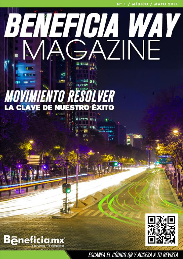 Beneficia Way Magazine MAYO 2017