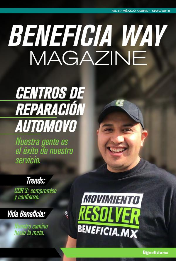 Beneficia Way Magazine BWM ABRIL-MAYO