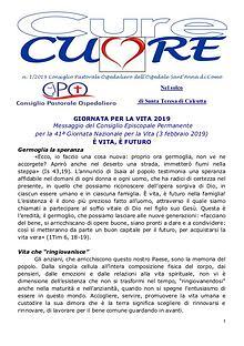 Cure-Cuore n. 1/2019 a cura del C.P.O. Sant'Anna - Como