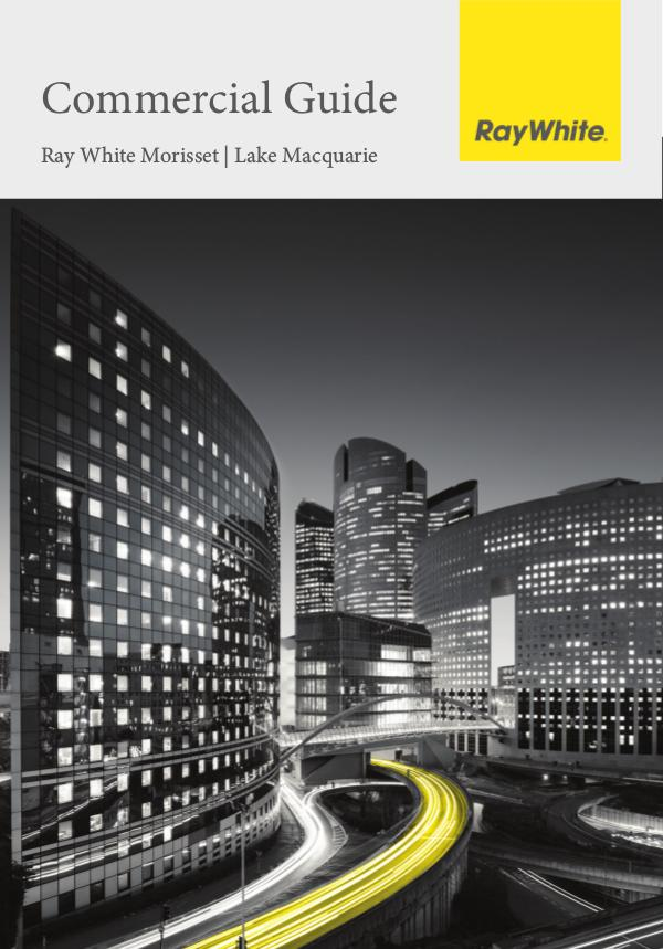 Commercial Guide - Ray White Morisset 28th August 2019