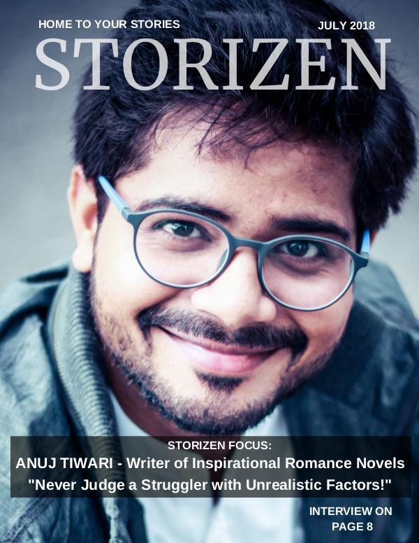 Storizen Magazin July 2018 issue Storizen Magazine July 2018 Issue