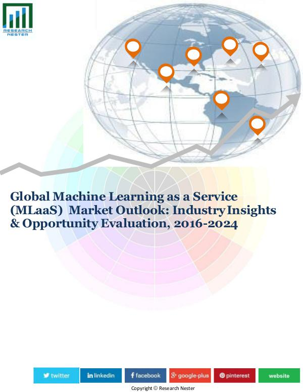 Machine Learning as a Service Market (2016-2024)-