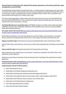 Global Fabric Filter Market 2017