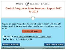 Aragonite Sales Market