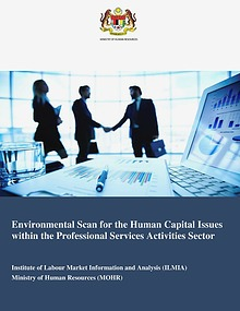 Final Report - Professional Services Activities Environmental Scan