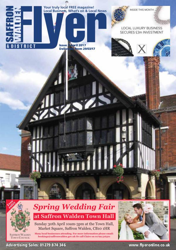 Saffron Walden Flyer monthly magazine for Saffron Walden in Essex