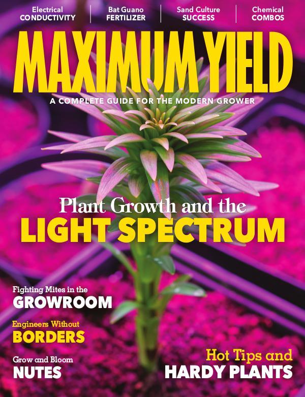 Maximum Yield USA June 2018