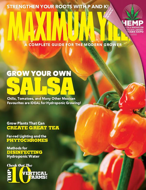 Maximum Yield Australia/New Zealand November/December 2018
