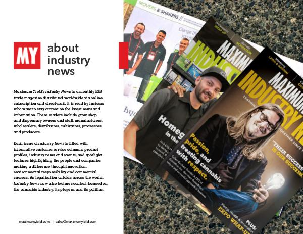 Client Resources Maximum Yield's Industry News 2019 Media Kit