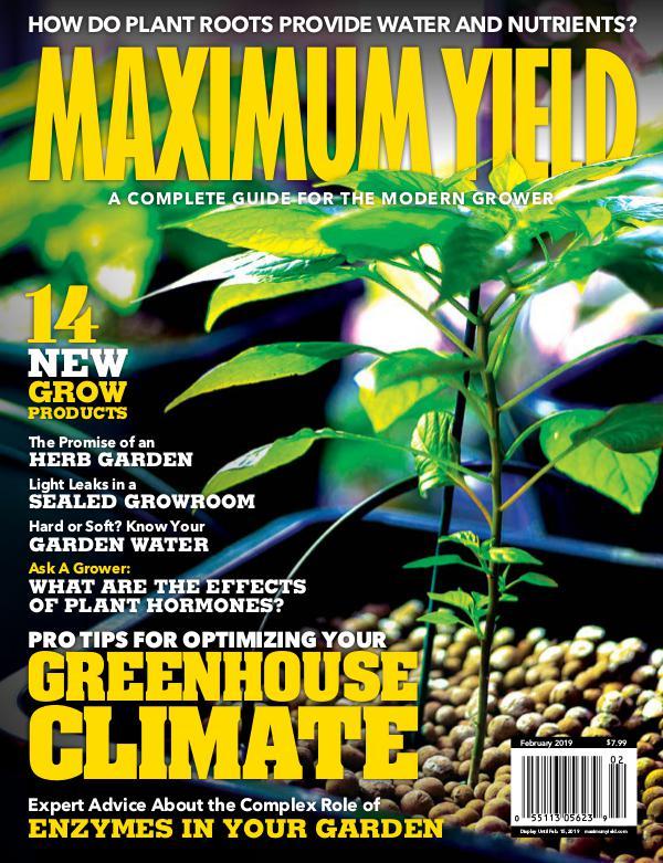 Maximum Yield USA February 2019