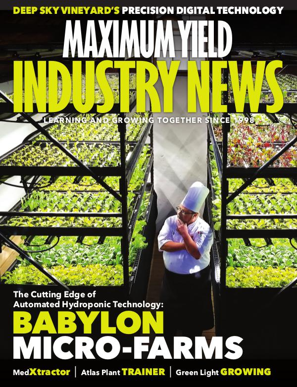 Maximum Yield's Industry News February 2019