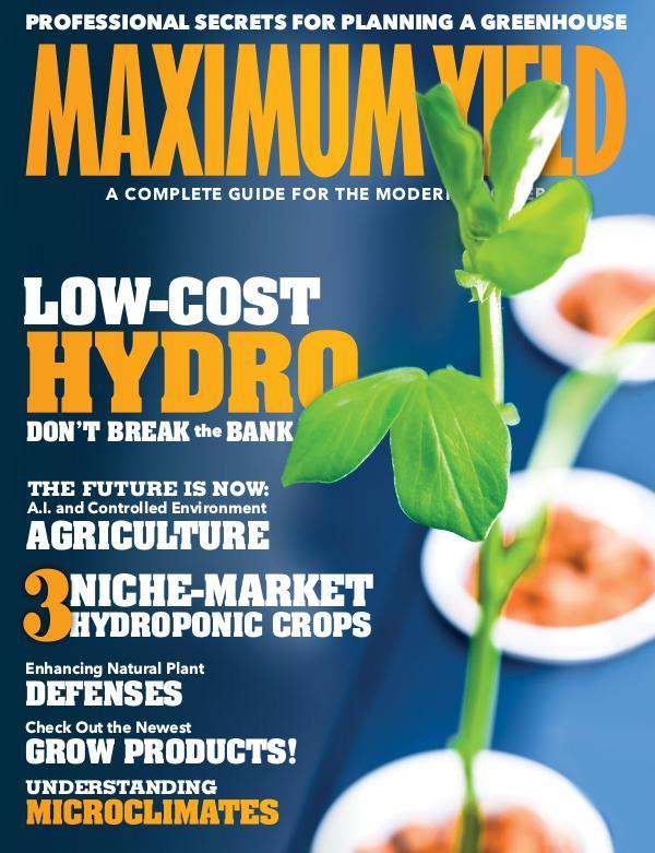 Maximum Yield USA August/September
