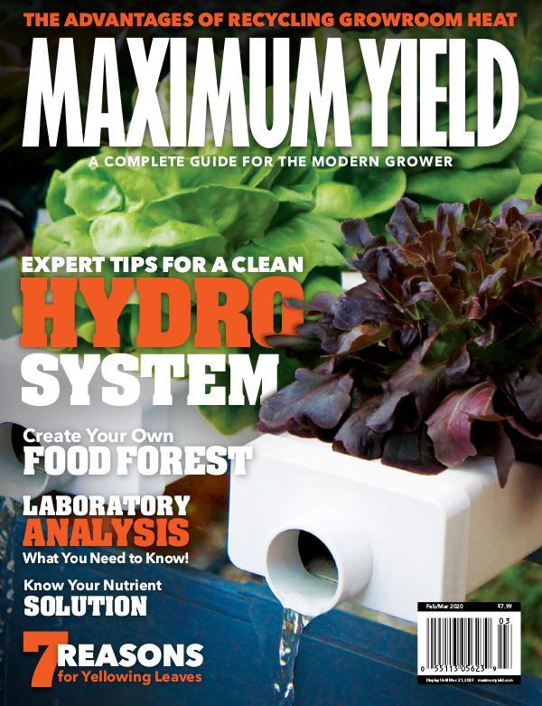 Maximum Yield USA February/March 2020