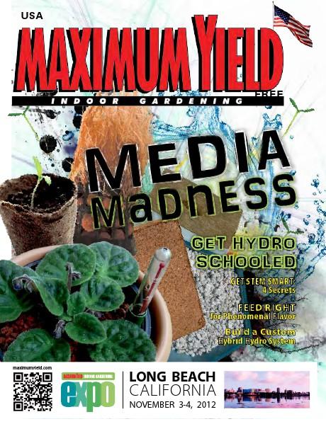 Maximum Yield USA 2012 September