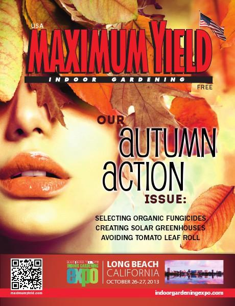 Maximum Yield USA 2013 October