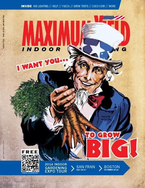 Maximum Yield USA 2014 July