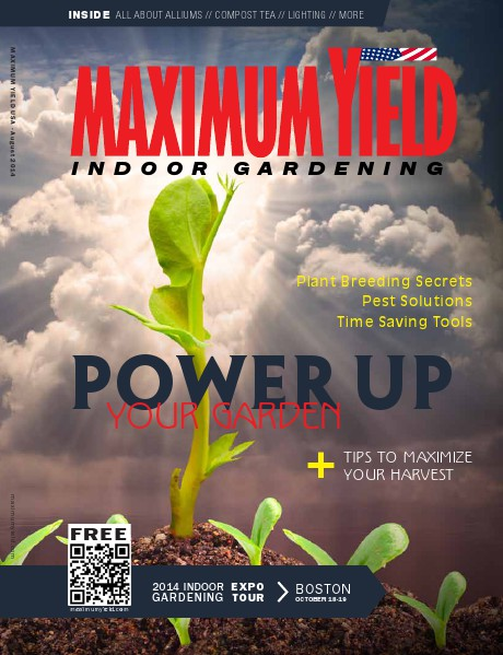 Maximum Yield USA 2014 August