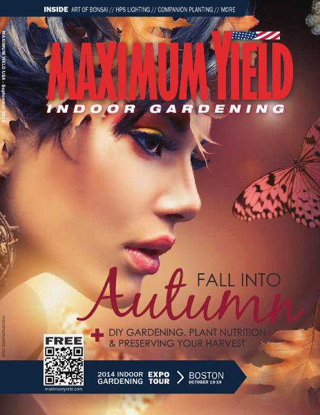 Maximum Yield USA 2014 September