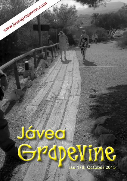 Javea Grapevine Issue 179 - LARGE FONT EDITION