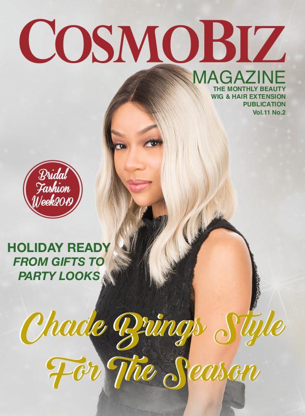 CosmoBiz Magazine November 2019