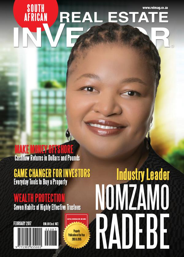 Real Estate Investor Magazine South Africa Real Estate Investor Magazine - February 2017