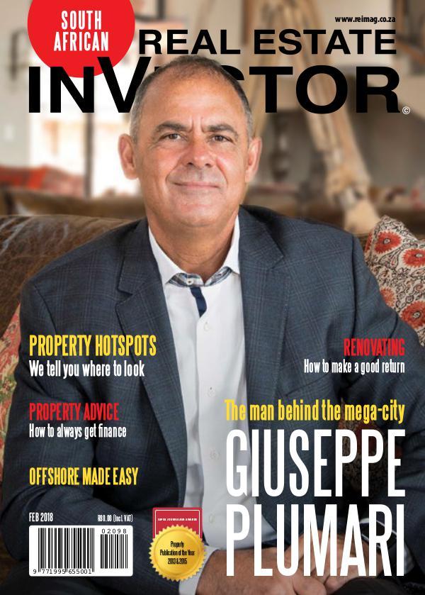 Real Estate Investor Magazine South Africa REIM February 2018