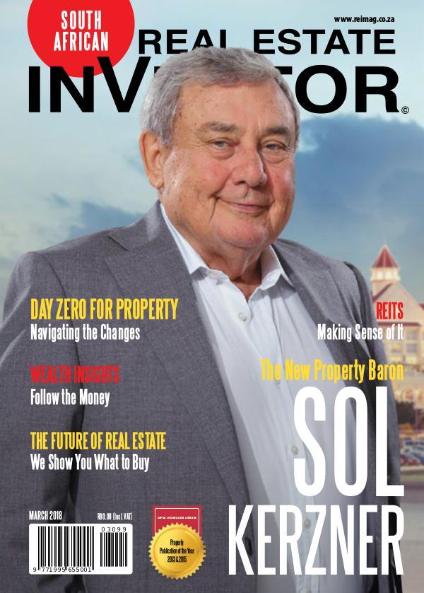 Real Estate Investor Magazine South Africa Real Estate Investor Magazine March 2018