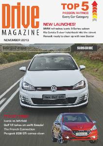 Drive Magazine November 2013