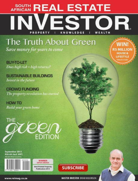 Real Estate Investor Magazine South Africa September 2013