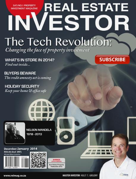 Real Estate Investor Magazine South Africa December - January 2014