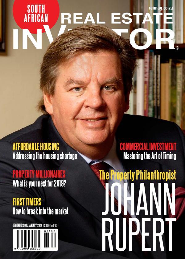 Real Estate Investor Magazine South Africa December/ January 2018/2019