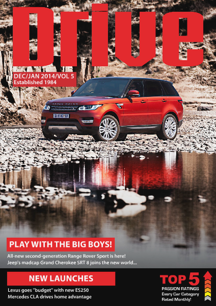 Drive Magazine December January 2014