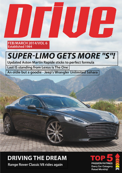 Drive Magazine Issue 6 February March 2014