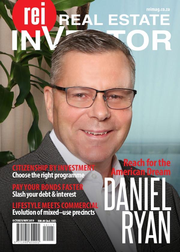 Real Estate Investor Magazine South Africa October/ November 2019