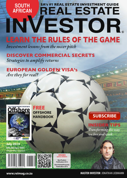 Real Estate Investor Magazine South Africa July 2014