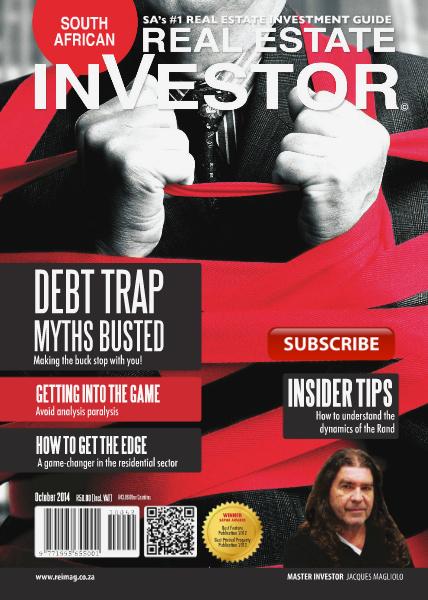 Real Estate Investor Magazine South Africa October 2014