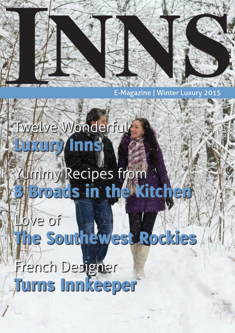 Inns Magazine Winter Issue 5 Vol 19 Luxury 2015