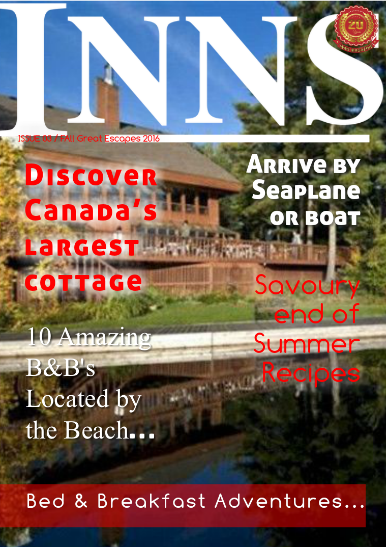 Issue 3 Vol. 20 Great Escapes Fall 2016