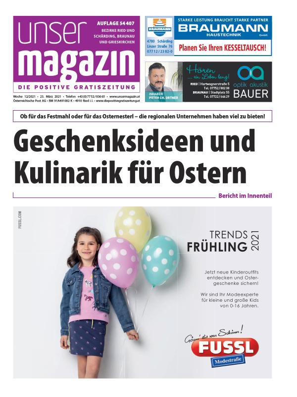 Unser Magazin KW 12 2021
