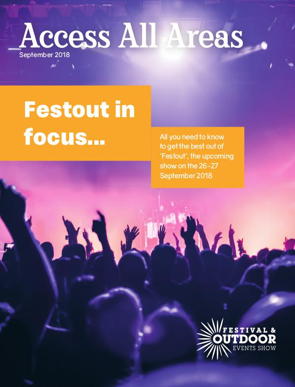 Festival & Outdoor Events Show Preview 2018